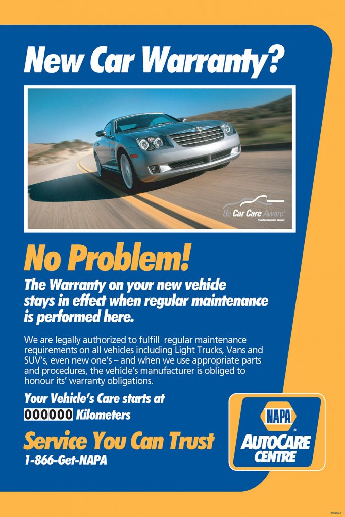 New Car Warranty Service at our shop