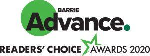 Barrie Advance Reader's Choice Awards 2020 Logo